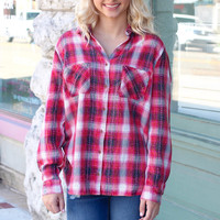 Tickled Pink Plaid Flannel {Pink Mix}