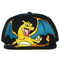 CHARIZARD SNAPBACK - Yellow