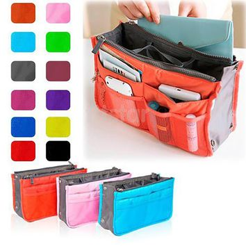 Cosmetic Bag Makeup Bag Travel Organizer Portable Beauty Pouch Functional Bag Toiletry Make Up Makeup Organizers Phone Bag Case