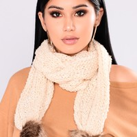 Always Passionate Scarf - Off White