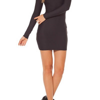 Bodycon Mini Dress Black