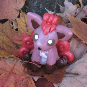 Pokemon Inspired: Vulpix Figurine/Model!