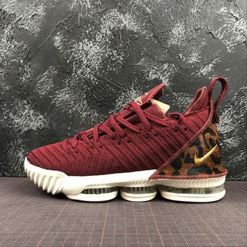 Nike LeBron XVI LMTD 16 King Team Red Basketball Shoes - Best Online Sale