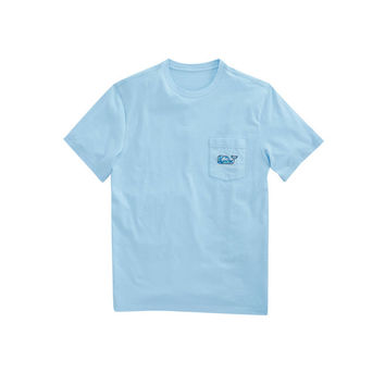 Pelican Magnolias Whale Fill Pocket T-Shirt