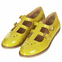 MARGATE Double Buckle Geek Shoes