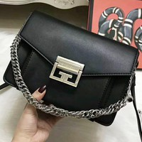 Celine Fashion Casual Button bag Women Shopping Leather Print Tote Handbag Shoulder Bag Black G-QS-MP-JZLB