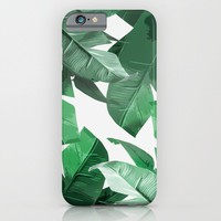 Tropical Palm Print iPhone & iPod Case by Tamsin Lucie