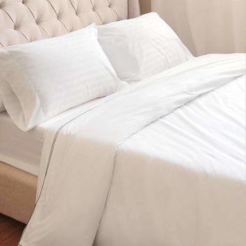 Serenity Egyptian Cotton Percale Duvet Cover