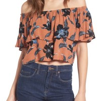 Faithfull the Brand Salerno Off the Shoulder Top | Nordstrom