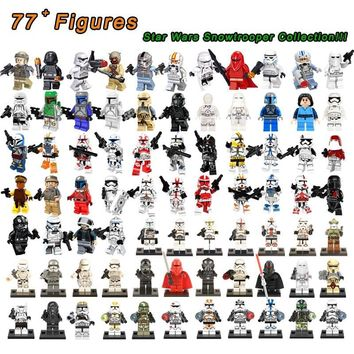 Star Wars Force Episode 1 2 3 4 5 50Pc/Set Legoings  Imperial Stormtrooper Clone Troopers Trooper Shock Storm Sand Death Snowtrooper Building Blocks Toys AT_72_6