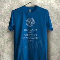 carry on my wayward supernatural tee - 11nyy Unisex T- Shirt For Man And Woman / T-Shirt / Custom T-Shirt / Tee