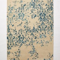 Julieta Damask Rug by Anthropologie