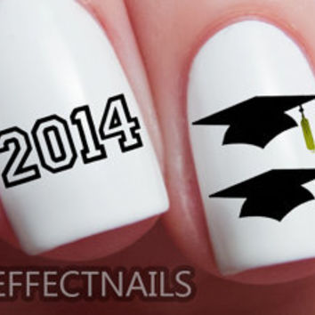 Class of 2014 Graduation Nail Decals