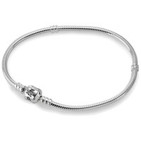 Pandora Sterling Silver Bracelet with Lobster Clasp
