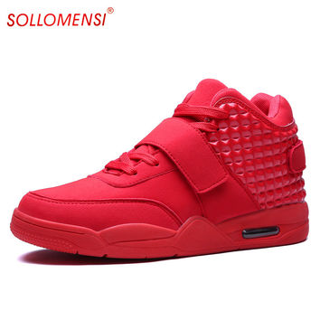 New Top Quality Men Basketball Shoes Male Black White Authletic Trainer Shoes Sports Basketball Sneakers Shoes For Adults
