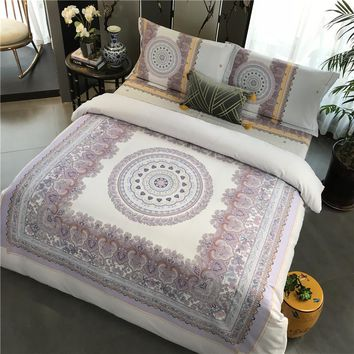 Queen King Bedding Set Bed sheet set Sanding Cotton Warm Duvet Cover Bed set Pillowcases linge de lit juego de cama funda cama