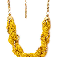 Dreamy Twisted Beaded Necklace