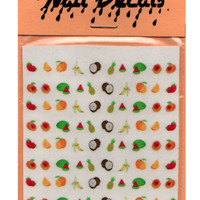 FRUITY TOOTY NAIL DECALS