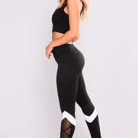 Bailey Active Leggings - Black