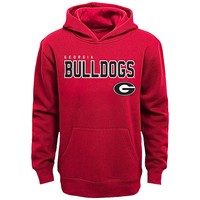 Georgia Bulldogs Promo Fleece Hoodie - Boys 8-20, Size: