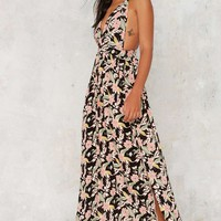 After Party Vintage Acropolis Maxi Dress