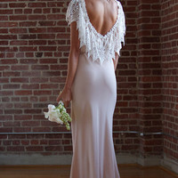 Rupp Dress- White and Blush   Stone Cold Fox