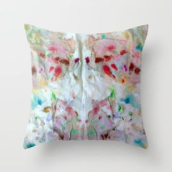 Abstract Rorschach Pillow Cover and Insert