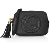 Gucci - Soho Disco textured-leather shoulder bag