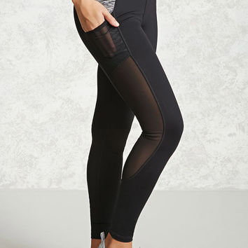 Active Space-Dye Panel Leggings