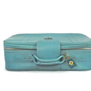 Blue Samsonite Suitcase Aqua Suitcase Blue Luggage