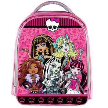 School Backpack Ever After High Dolls Backpack Children School Bags Cute Monster High Women Cartoon Book Schoolbag for Girls Kids Mochila AT_48_3