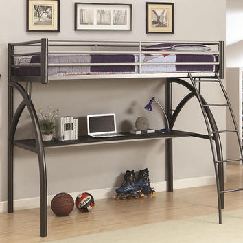 Altman Twin Size Study Loft Bed