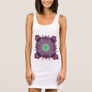 Women's Jersey Sacred Geometry Sleeveless Dress
