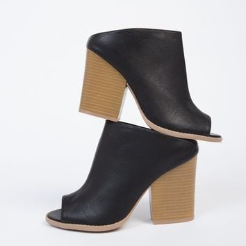 Slide In Mule Sandal Heels