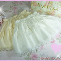 Tralala Layered Chiffon Skirt (NwT) from Kawaii Gyaru Shop