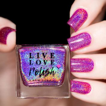 Live Love Polish Warrior Nail Polish (Breast Cancer 2017 Collection)