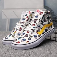 VANS High-Top Woman Men Fashion Flats Shoes