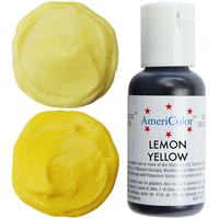 Lemon Yellow Gel Paste Food Color