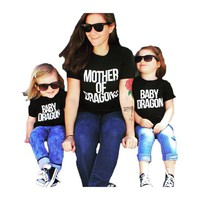 Mommy and Me Mother of Dragon Tee