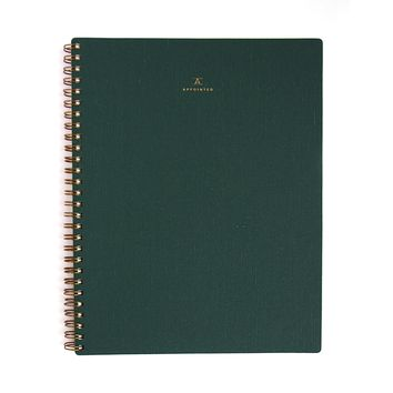 Hunter Green Notebook