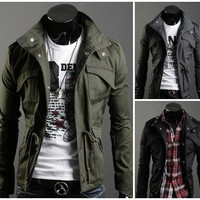 Casual Military Style Jacket (Exclusive Deal)