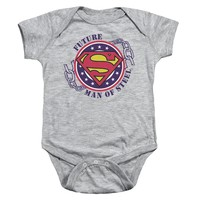 Superman - Future Man Of Steel Infant Snapsuit Officially Licensed Baby Clothing