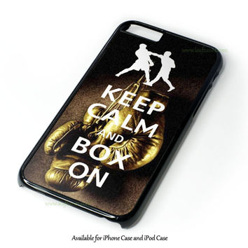 Keep Calm Wwe Boxing Gloves Design for iPhone 4 4S 5 5S 5C 6 6 Plus, and iPod Touch 4 5 Case