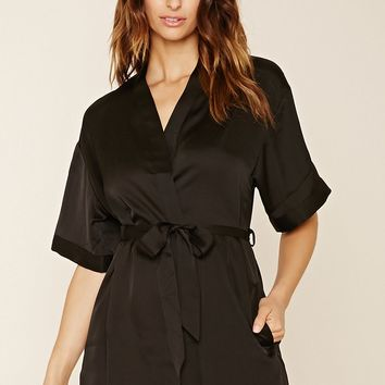 Mini Satin Robe