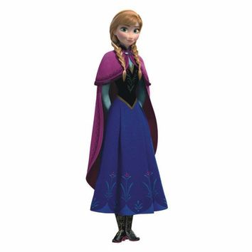 York Wallpaper RMK2737GM Frozen Anna With Cape Giant
