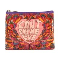 Cant Buy Me Love Coin Purse