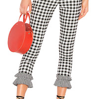 Lovers + Friends Patterson Pant in Checkers | REVOLVE