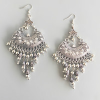 Antiqued Simran Earrings