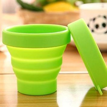 Collapsible Silicone Sterilizing Cup for Menstrual Cup