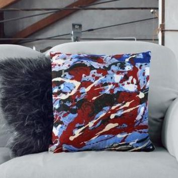 Abstract Painting Sofa Pillow Cover